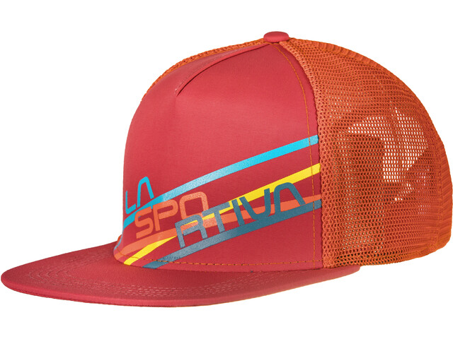 La Sportiva Stripe 2.0 Trucker Hat Cardinal Red/Flame
